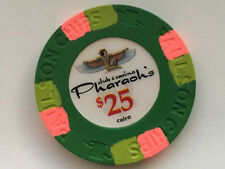 Pharaoh's ORIG. paulson club denom $25 Poker-chips de póquer jetons