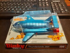 Dinky Toys 106 Thunderbird 2 And 4 Boxed