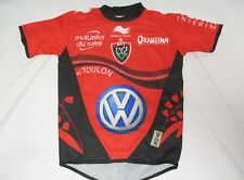 Maillot rugby R.C TOULON home BURRDA SPORT shirt collection rouge 5 6 ans