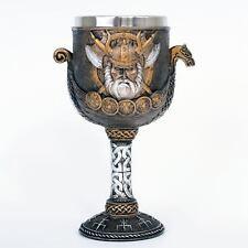 Valhalla Viking Goblet 17cm High Nemesis Now Norse Ragnar Vikings Chalice Nordik