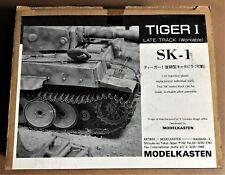 MODELKASTEN SK-1 - TIGER I LATE TRACK - CINGOLI TRACKS - 1/35 PLASTIC KIT