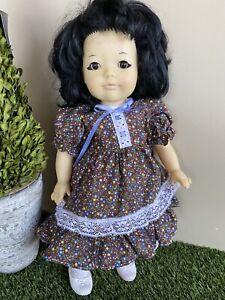 "Gotz Vintage Doll 19"" Unique Eyeliner Wearing Original Clothes - Rare"