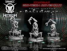 Hitech Miniatures - 28SF090 Tech Master Balthasar 28mm Warhammer 40k 40000