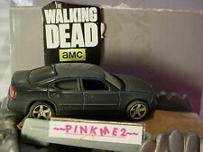 The Walking Dead Zombie ✰ 2006 Dodge Charger ✰ Gris ✰ Loose Luz Verde Hollywood