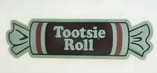 """TOOTSIE ROLL POP CANDY SWEETS Retro Old Style Embossed Metal Tin Sign 18x5"""" NEW"""