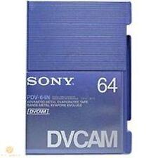 1 Sony PDV-64N HD CAM NASTRO 184min DLC strato protettivo resistente-Regno Unito Nuovo Originale