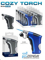 ACCENDINO PISTOLA ANTIVENTO TURBO LIGHTER JET FLAME RICARICABILE ZG393