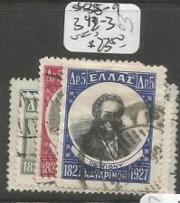 Greece Sc 338-9, 342-3 Mog (3csn)
