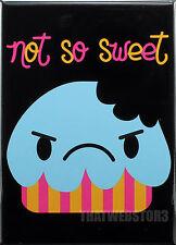 Bored Inc. Not So Sweet Refrigerator Magnet ~ Licensed ~ Gag Gift ~ Cupcake