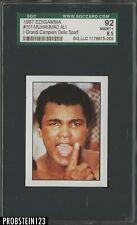 1997 Edigamma Grandi Campioni Dello Sport Boxing #101 Muhammad Ali SGC 8.5