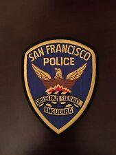 San Francisco Police Department Shoulder Patch