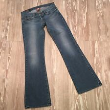 Lucky Brand Lil Lexi Jean Womens Size 12 Long Inseam Embellished Denim USA Made