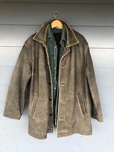 Wilsons Leather Dean Winchester Coat / Jacket Supernatural Sz Large