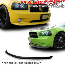 DODGE CHARGER 05, 06, 07, 08, 09, 10 FRONT BUMPER LIP CHIN SPOILER BODY KIT