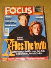 FOCUS FN 1998 JULY US MAGAZINE X-FILES