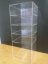 305displays Acrylic Showcase Shelves Display 9 X 9 X 23 Without Door