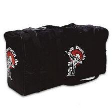 Tae Kwon Do Tournament Equipment Bag TKD Gym Workout Gear Duffel Bag - Black