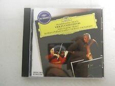 Mendelssohn Bruch Violin Concertos Anne Sophia Mutter Berliner CD New