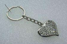 Taschenanhänger Schlüsselanhänger *SUPER HINGUCKER* als funkelndes ♥ HERZ ♥  NEU