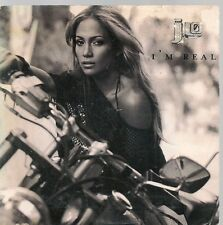 CD SINGLE 2 TITRES--JENNIFER LOPEZ--I'M REAL--2001