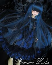 [Clover-yama] BLACK ROCK SHOOTER long wig bjd SD/MSD 1/3 1/4 doll use
