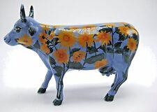 Cows on Parade Moo-Nays Garden Retired Figurine Kansas City Sunflower