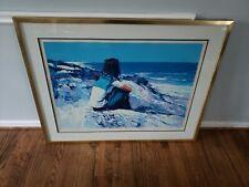 "Nicola Simbari ""White Beach"" Rare Limited Edition #31/200"