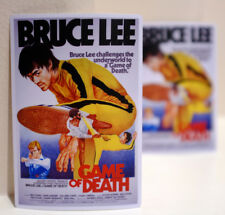 """Bruce Lee Game of Death Retro Movie Poster style 3x4"""" DECAL STICKER #3193"""
