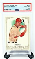 2012 Topps Allen & Ginter National Star BRYCE HARPER Rookie Card PSA 10 GEM MINT