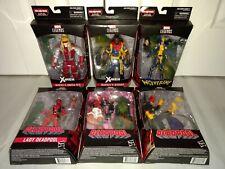 Marvel Legends Sauron BAF COMPLETE MISP! Bishop Omega Red Deadpool Wolverine X23
