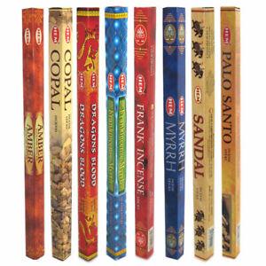 HEM Incense Stick Ancient Aromas Sampler 8 Boxes! Mixed Assortment of 64 Sticks