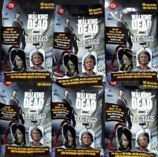 2016 THE WALKING DEAD SEASON 5 DOG TAG'S 6 SEALED PACKS