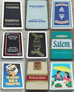 Vintage Tobacciana Pack of Playing Cards Advertising Cigarettes (b)