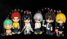 Takara Tomy Beelzebub Deformed keychain Figure Gashapon (full set of 6 figures)
