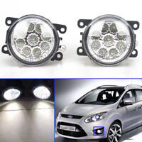 2X 9 LED For Ford Falcon FG 2008-2014 XT XR6 XR8 G6 G6E Fog Light Driving Lamps