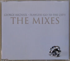 GEORGE MICHAEL * FLAWLESS (GO TO THE CITY) * BRAZIL 5 TRK PROMO * HTF * THE ONES