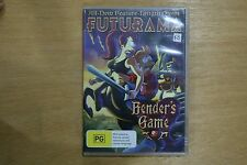 Futurama - Bender's Game  (DVD, 2008)  - VGC Pre-owned (D45)