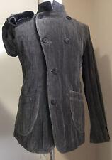 New $3095 Giorgio Armani Men Jacket Coat Gray 40 US ( 50 Eu ) Italy