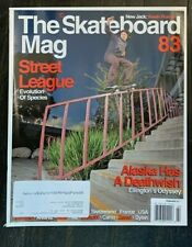 The Skateboard Mag Issue 83 February 2011 Kevin Romar Guy Mariano Drehobl Silas
