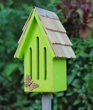 """Butterfly Houses - """"Kelmscott Gardens"""" Butterfly House - Green - Garden Decor"""