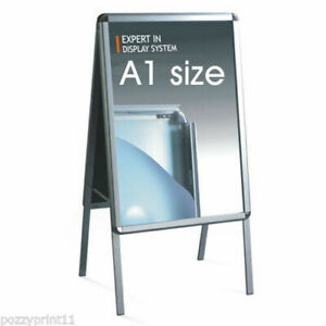 A1 SNAP POSTER AFRAME SHOP SIGN display advertising sandwich board