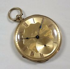 James Courvoisier 18K Pocket Watch, Beautiful Box and Wind Key, Geneva Made