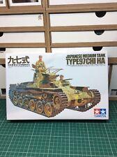 1/35  TAMIYA  JAPANESE  TYPE  97  CHI-HA  TANK   (35075)     256g
