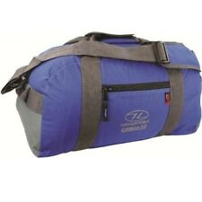 Highlander Cargo 30 Litre Robust Holdall Duffle Bag 5034358034504 Blue 2cc3397dcb9de