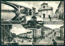 Pisa Santa Croce sull'Arno PIEGHINA Foto FG cartolina KF3258