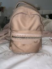 3beea7b05887 Stella McCartney Powder Pink Falabella Go Mini Backpack Purse Crossbody  Handbag