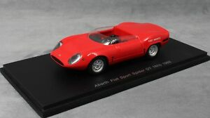 Spark Fiat Abarth Sport Spider OT 1600 in Red S1319 1965 1/43 NEW