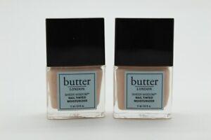 2x Butter London Sheer Wisdom Nail Tinted Moisturizer- FAIR, .4 oz (NWOB-SEALED)