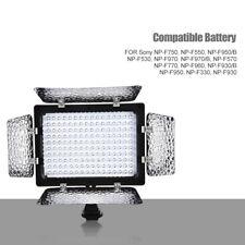 W160 LED Lámpara luz de relleno de foto de Zapata con difusor para Canon Nikon cámara de vídeo