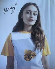 Ella Purnell signed 10x8 Image A photo UACC AFTAL Registered dealer COA